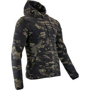 Viper Tactical Fleece-Kapuzenpullover V-Cam Black