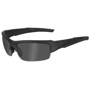 Wiley X WX Valor Schutzbrille - Gläser in Smoke Grey/Black Ops / Gestell in Mattschwarz