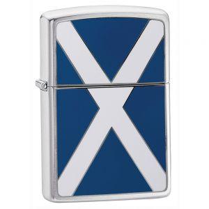 Zippo Scottish Flag Feuerzeug mit schottischer Flagge